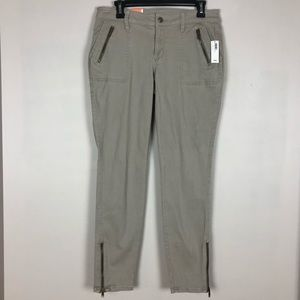 Old Navy Womens Pants Rockstar Skinny Olive 10